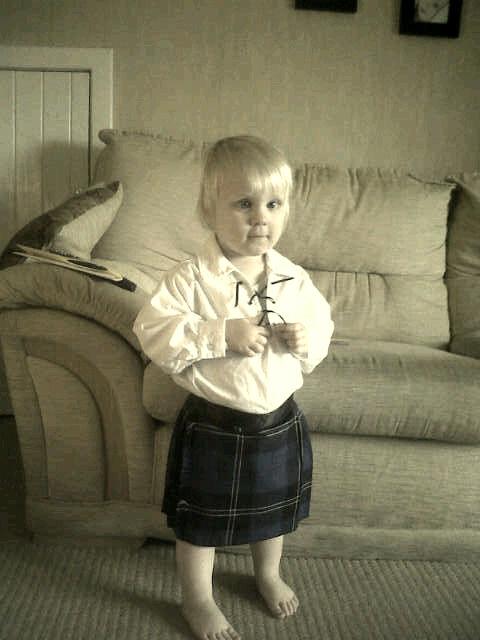 My wee Scotsman